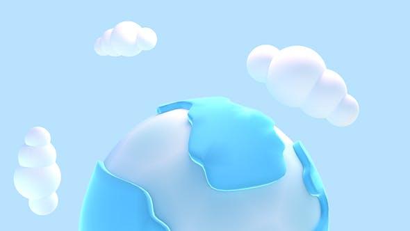 Thumbnail for 3D Cartoon Earth