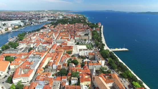 Thumbnail for Aerial View Of Zadar, Croatia 1