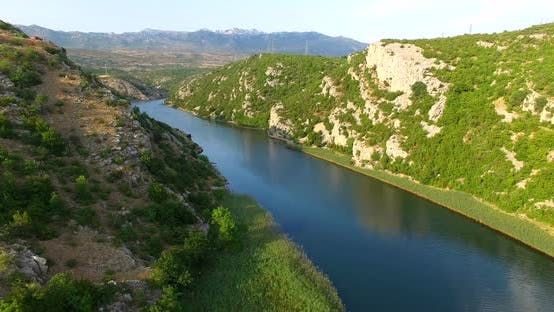 Thumbnail for Aerial View Of Zrmanja River, Croatia 15