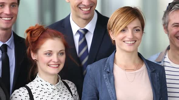 Thumbnail for Portrait Of Young Business People Smiling 1