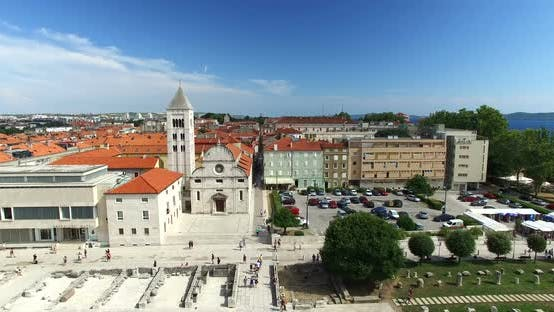 Thumbnail for Saint Mary Church And Monastery In Zadar, Croatia