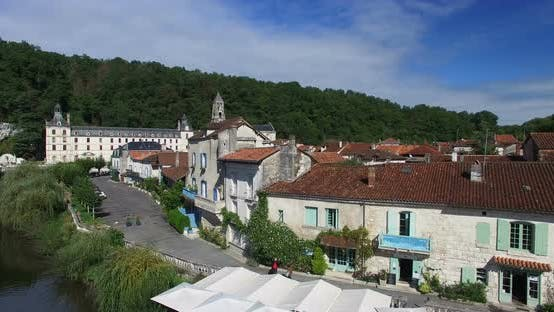 Thumbnail for Benedictine Abbey Of Brantome And River And Surrounding 1