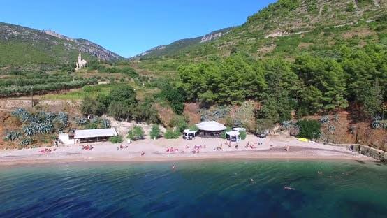Thumbnail for Aerial View Of Bay At Komiza On Island Of Vis, Croatia 2