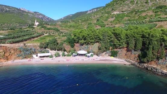 Thumbnail for Aerial View Of Bay At Komiza On Island Of Vis, Croatia 3