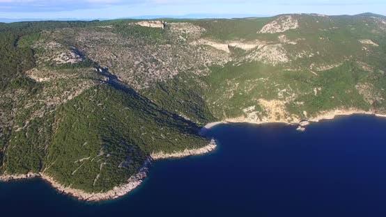 Thumbnail for Aerial View Of Beautiful Beach St. John On Island Of Cres, Croatia 3