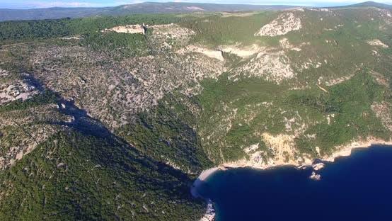 Thumbnail for Aerial View Of Beautiful Beach St. John On Island Of Cres, Croatia 5