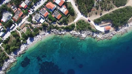 Thumbnail for Aerial View Of Beautiful Martinscica Beach, Croatia 3