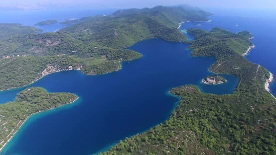 Thumbnail for Aerial View Of Beautiful Mljet Island, Also Called Green Island, Croatia 3
