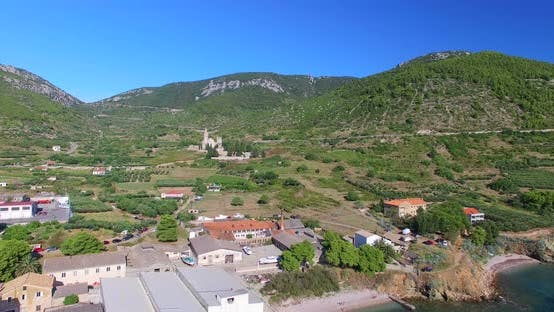 Thumbnail for Aerial View Of Small Komiza Town On Island Of Vis, Croatia 1