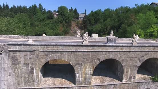 Thumbnail for Aerial View Of Stone Tounj Bridge, Croatia 5