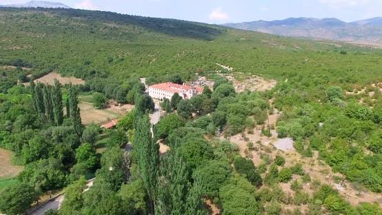 Thumbnail for Aerial View Of Krupa Monastery, Croatia 3