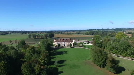 Thumbnail for Aerial View Of Bourbet Castle, France 7