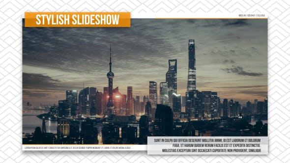 Thumbnail for Stylish Wall Slideshow