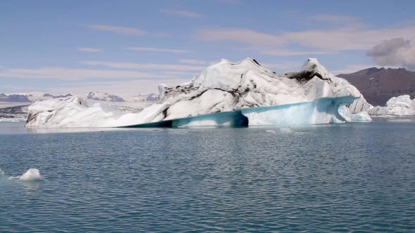 Thumbnail for Beautiful Iceberg At Jokulsarlon Iceland