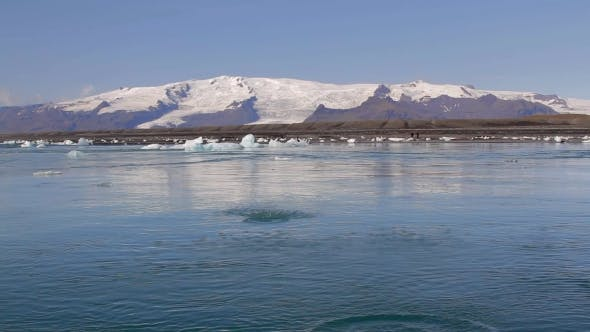 Thumbnail for Jokulsarlon Glacier Lagoon And Vatnajokull Iceland