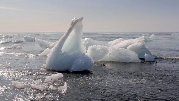 Thumbnail for Amazing Ice Floe At Jokulsarlon. Iceland