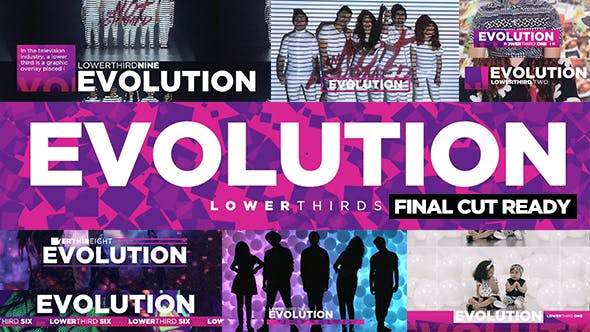 Thumbnail for Evolution Lower-Thirds