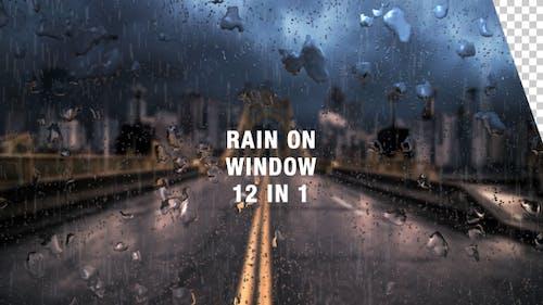 Rain on Window Pack