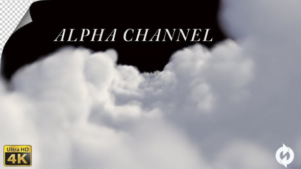 Through the Clouds - Alpha Channel