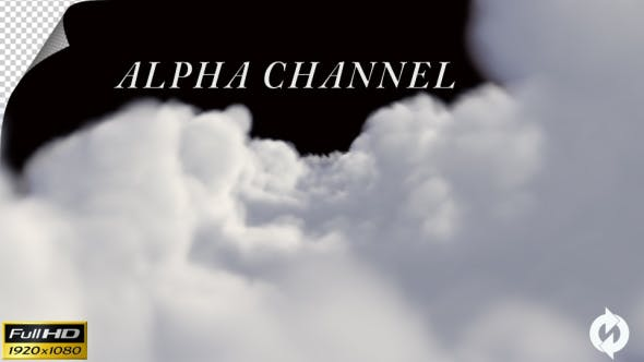 Thumbnail for Through the Clouds - Alpha Channel