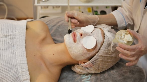 Thumbnail for Face Mask Being Applied During Spa Treatment