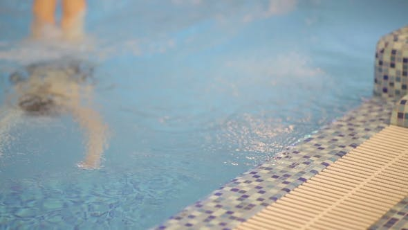 Thumbnail for Young Female Athlete In The Pool