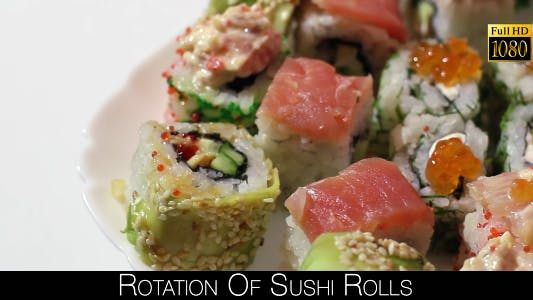 Thumbnail for Rotation Of Sushi Rolls 2