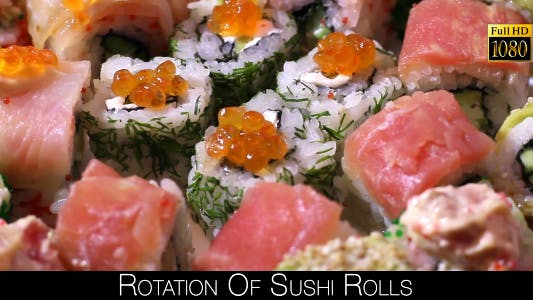 Thumbnail for Rotation Of Sushi Rolls 3