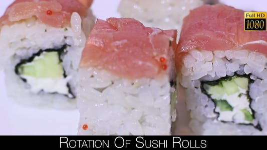 Thumbnail for Rotation Of Sushi Rolls 7
