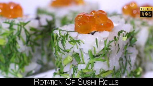 Thumbnail for Rotation Of Sushi Rolls 10