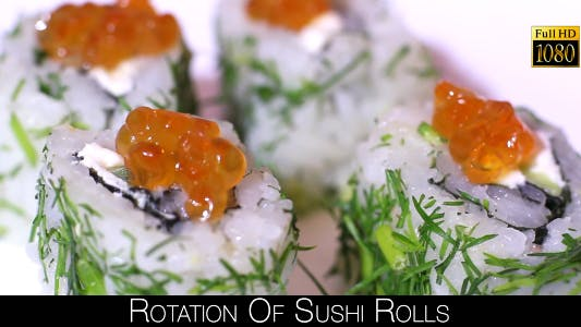Thumbnail for Rotation Of Sushi Rolls 12