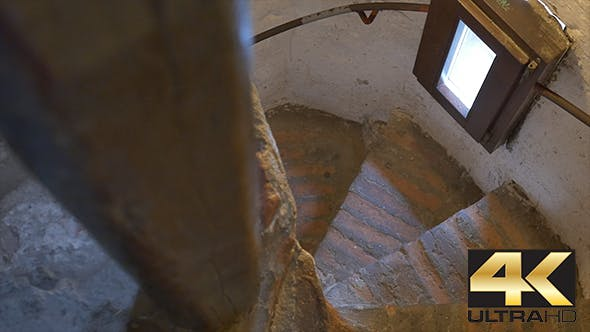 Thumbnail for Stairs Inside Medieval Tower
