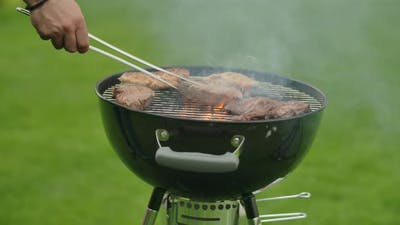 Grilling on a Kettle Grill