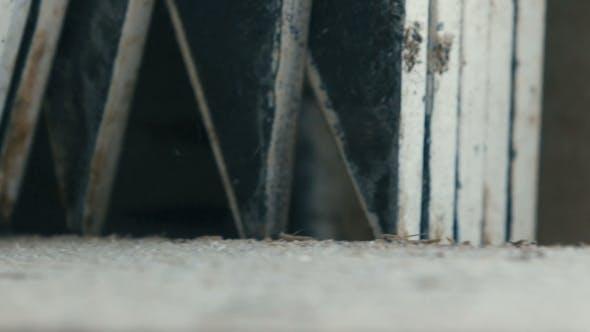 Thumbnail for Schneiden Holz in einem Sägewerk