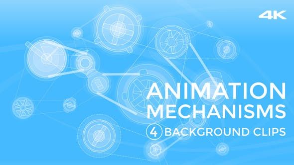 Thumbnail for Animation Mechanisms, Blue Background