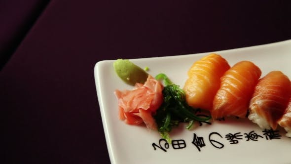 Thumbnail for Sushi Food On The Plate