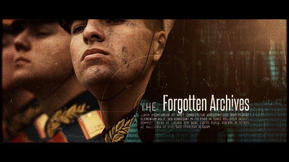 Thumbnail for Les archives oubliées