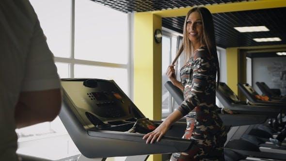Thumbnail for Girl On a Treadmill