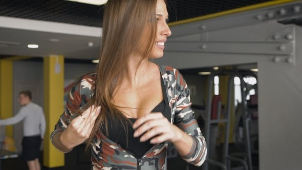 Thumbnail for Girl Running On The Treadmill
