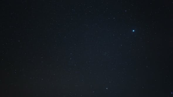 Thumbnail for Starry Sky  With A Polar Star And Constellation The Big Dipper