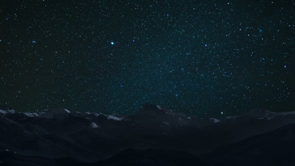 Thumbnail for Starry Sky At Mountain