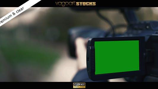 Thumbnail for Professionelle Kamera LCD-Bildschirm Mock Up