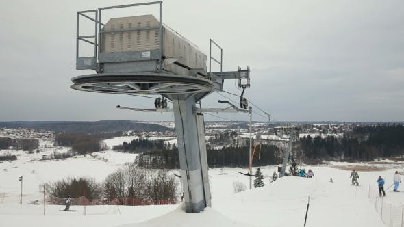 Cover Image for Mechanism Of The Ski Lift