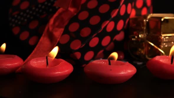 Cover Image for Christmas Decoration On Candle Lights 1