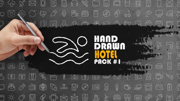 Thumbnail for Hand Drawn Hotel Pack 1