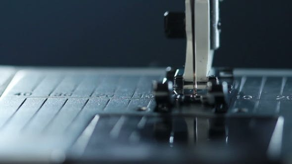 Thumbnail for Manufacturing Equipment At Textile Factory. Sewing Needle In