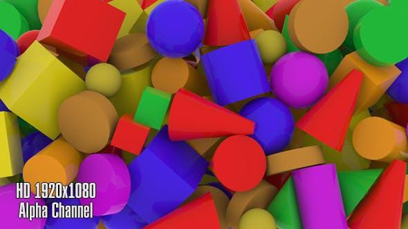 Thumbnail for 3D Shape-Übergang