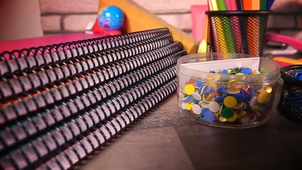 Thumbnail for Colorful School Supplies