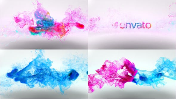Thumbnail for Colorful Particles Logo Reveal v3
