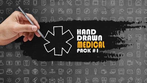 Thumbnail for Hand Drawn Medical Pack 1